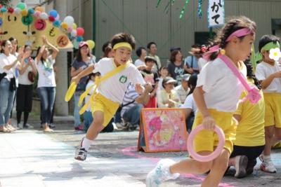 310☆幼稚園行事〜「運動会」リレーアンカーの息子を撮る!写真撮影のコツ