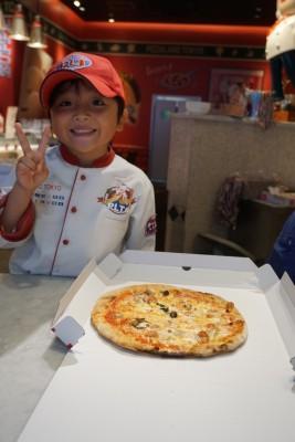【誕生日】ピザ作り体験♪