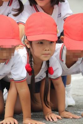 藤尾家 運動会6年目。幼稚園最後の運動会