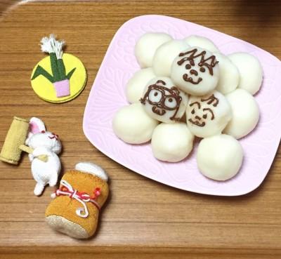 今日は十五夜!お豆腐入りお月見団子を作ってみました(^^)/