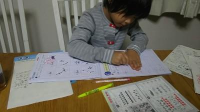 小学一年生前期終了!勉強、宿題、先生とモンペ事件