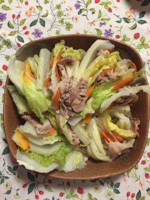 ミルフィーユ温野菜で体をあたためよう!!