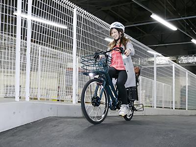 ママに嬉しい3つの機能!電動アシスト自転車bikke GRIをチェック