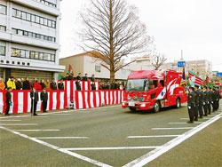 秋田県 秋田市消防出初式