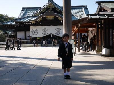 【七五三】靖国神社&東京ドームシティホテル会食