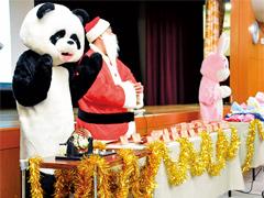 神戸市 動物園クリスマス会
