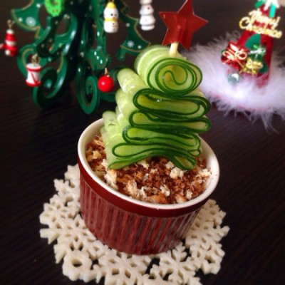 【レシピ】食べたらコロッケ!なクリスマスツリー