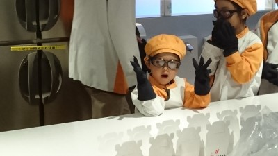 3歳でキッザニア東京初体験!3歳でもできる体験ってどれ?