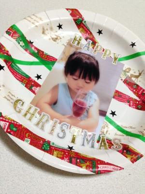 ほぼ100均材料☆紙皿でクリスマス飾り!!