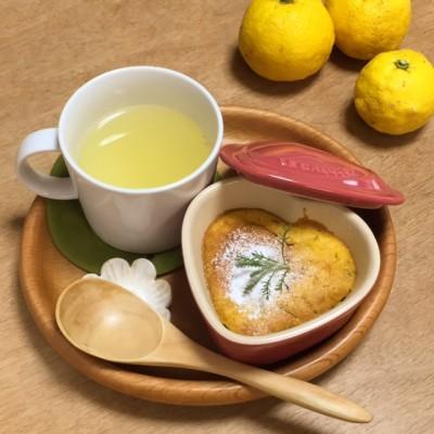 冬至♪カボチャのお菓子とはちみつ柚子をオヤツにしてみました(^^)