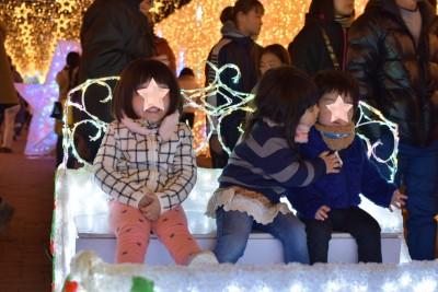 【家族で1日遊べる穴場】ふわふわ&公園⇒温泉⇒イルミネーションコース。