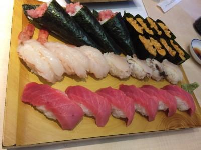 お得な、美登利寿司の食べ放題に行きました!
