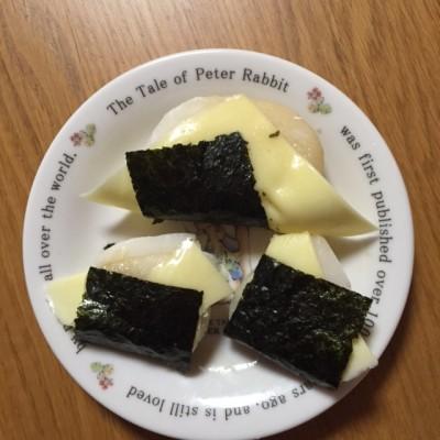 子どもも大好きチーズお餅