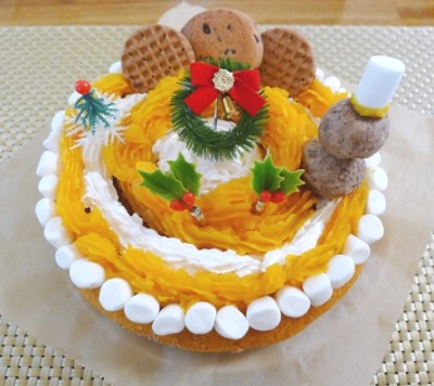 クリスマス☆炊飯器大活躍!おかずもケーキも♪