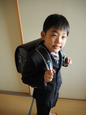 340☆黒川鞄工房ランドセル(彩色スムース牛革)届きました