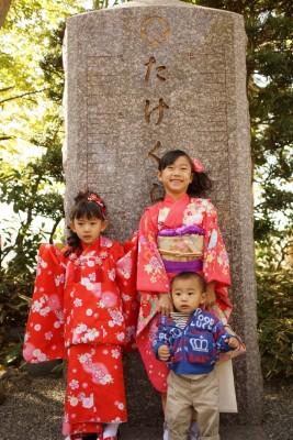 【W行事】姉妹の七五三 × 息子1歳誕生日 = 私乳腺炎になる