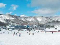秋田県 太平山スキー場オーパス