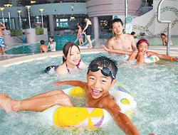 福島県 ホテルリステル猪苗代 クアハウス&プールC's