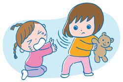 元気過ぎて周りの子を泣かせてしまう1歳の娘