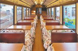 岩手県 三陸鉄道 こたつ列車