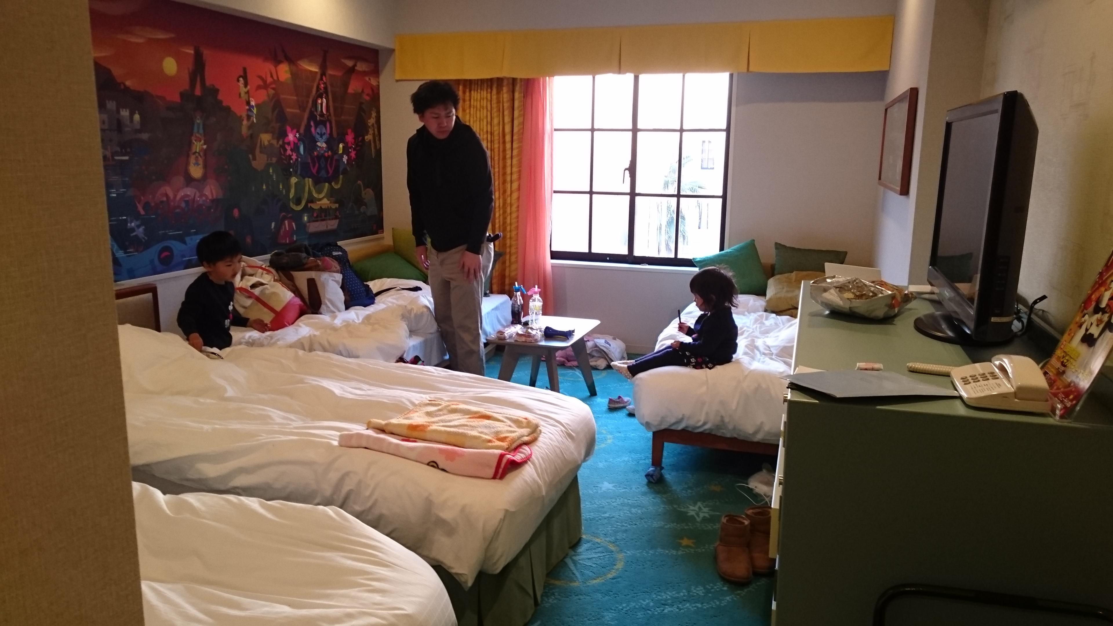 tdrオフィシャルなのに安い!ディズニーセレブレーションホテル宿泊