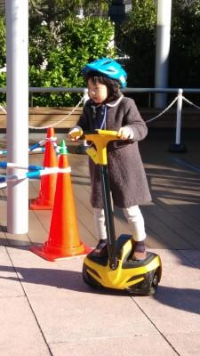 東京ドームシティでINMOTION体験