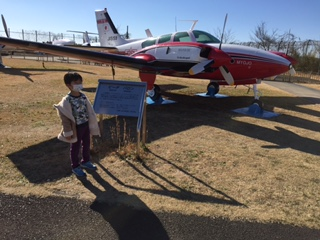 新年は1日から成田の航空科学博物館へ行ってきました!