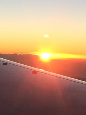 JAL「初日の出フライト2017」に乗ってきました!