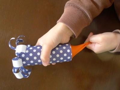 簡単!「手作りクラッカー」☆子ども大喜び!!