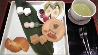京都ひつじのショーン茶屋に子連れで行ってみた