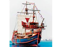 大阪市 大阪港帆船型観光船サンタマリア
