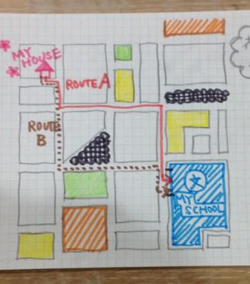 【入学準備】迷子にならない通学路の覚え方・実際に歩く時に話すこと