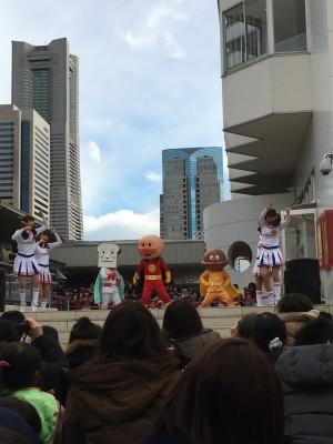 横浜アンパンマンこどもミュージアム&モールを満喫