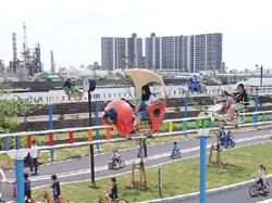 江戸川区  今井児童交通公園