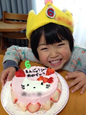 【誕生日】娘、6歳になる。