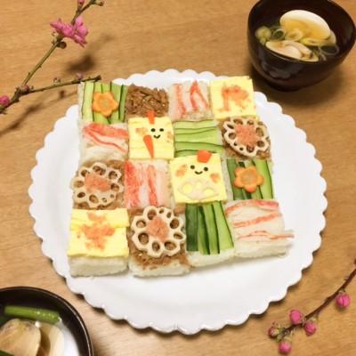 『モザイク寿司』って知ってる?フォトジェニックなお寿司はひな祭りにも♪