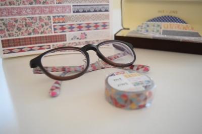 【mt×JINS】メガネ女子&マステ好き女子に嬉しいメガネ♪