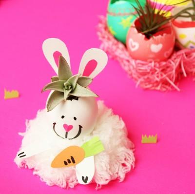 イースター*エッグプランター染め方色々! 作り方と飾り方