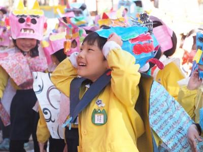 344☆【今さら】幼稚園行事〜節分と神社の節分祭【ダレトク】