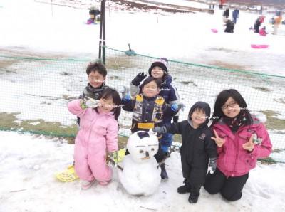 関西圏の子連れで雪山♪.*