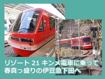 【おでかけ】伊豆急リゾート21キンメ電車に乗って春の下田へ子連れ電車旅