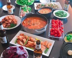 タイ料理ホームパーティ