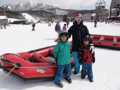 家族で初スキー!買ったもの、レンタルした物