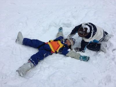 宝台樹スキー場 90分キッズスキー教室へ 滑れる様になるのか!?
