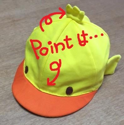 【入園・進級・運動会】目立つ!見つけやすい!カラー帽子のアレンジ!デコ