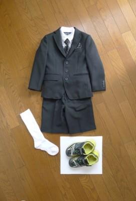入学式服(男児)サイズは?靴は?&母コーデ:卒園入学
