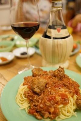 ルパン「カリオストロの城」のあの料理を楽しむ我が家のディナー