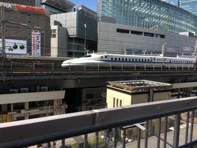 【お出かけ】有楽町は男の子の聖地!?無料で新幹線を間近で見られるよ!