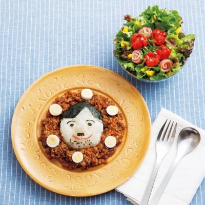 パパカレー・花束サラダ