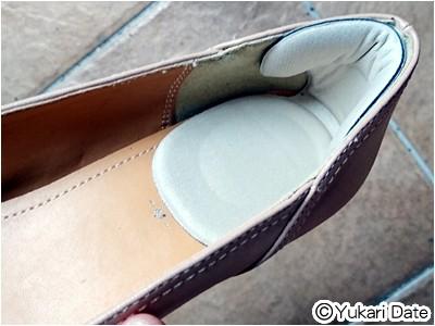 靴に貼り付けるだけ。